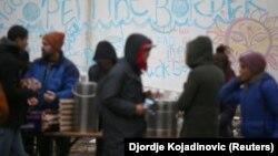 Ljudi sa migrantske rute u okolini Šida (19. decembar 2017)
