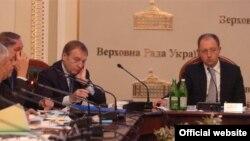 Засідання Погоджувальної ради керівників депутатських фракцій і груп, Київ, 10 листопада 2008 р.