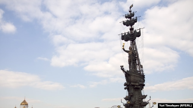 Eyesore or eye-catching? Sculptor Zurab Tsereteli's monumental statue of Peter the Great