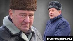 İlmi Umerov (soldan) ve Ahtem Çiygoz. Kollaj