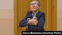 """Кадр из детского короткометражного фильма """"Ботинки"""""""