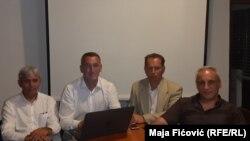 Disa përfaqësues të serbëve në Kosovë.