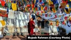 2015-ci il Hamdan Beynəlxalq Fotoqrafçılıq Mükafatına layiq görülüb. Bu foto Hindistanın şimalında yerləşən Şimla kəndindəki Buddist monastırında çəkilib.