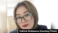 Коронавирус жұқтырған дәрігер Толқынай Ордабаева (Сурет жеке мұрағатынан алынды)