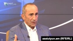 Former Armenian President Robert Kocharian (file photo)