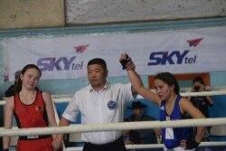 Моңғолиядағы боксшы қазақ қызы
