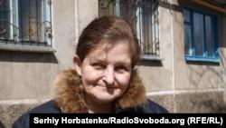 Елена, жительница Славянска