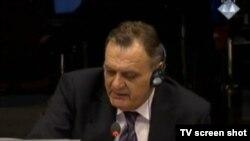 Svjedok Manu Đurić u sudnici 7. ožujka 2013.