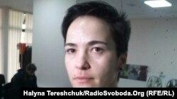 Ukrainian LGBT activist Olena Shevchenko