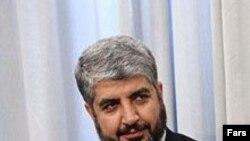 Глава делегации - председатель политбюро ХАМАС Халед Машаль