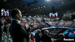 Дмитрий Медведев на церемонии открытия WorldSkills 2019 в Казани