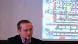 Chiril Tîșcic la o conferință la Geneva