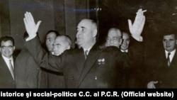 Gh. Gheorghiu Dej şi Nicolae Ceaușescu, 1961, Bucureşti