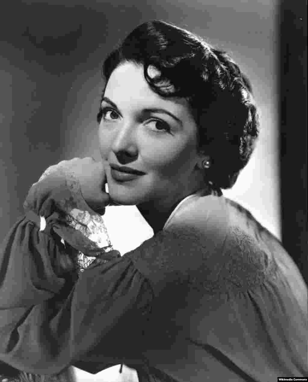 Нэнси Дейвис, 1950 год