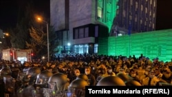 В столице Грузии Тбилиси, 8 ноября 2020 года.