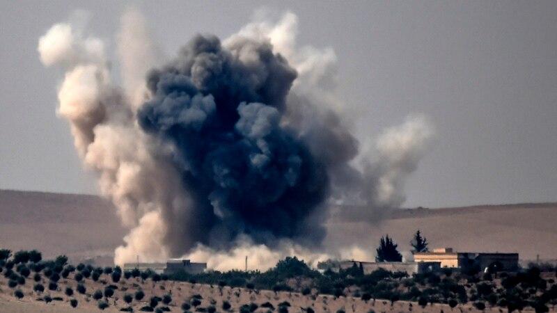 Войска коалиции сбили сирийский истребитель в районе Ракки
