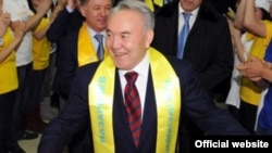 Deja vu all over again: President Nazarbaev on election day