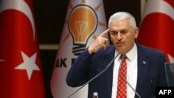 Türkiýäniň premýer-ministri Binaly Ýyldyrym, Ankara, 2-nji iýun, 2016