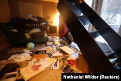 Последствия землетрясения в Анкоридже