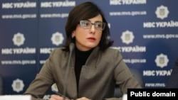 Голова Національної поліції України Хатія Деканоїдзе