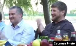Сергій Аксьонов і Рамзан Кадиров