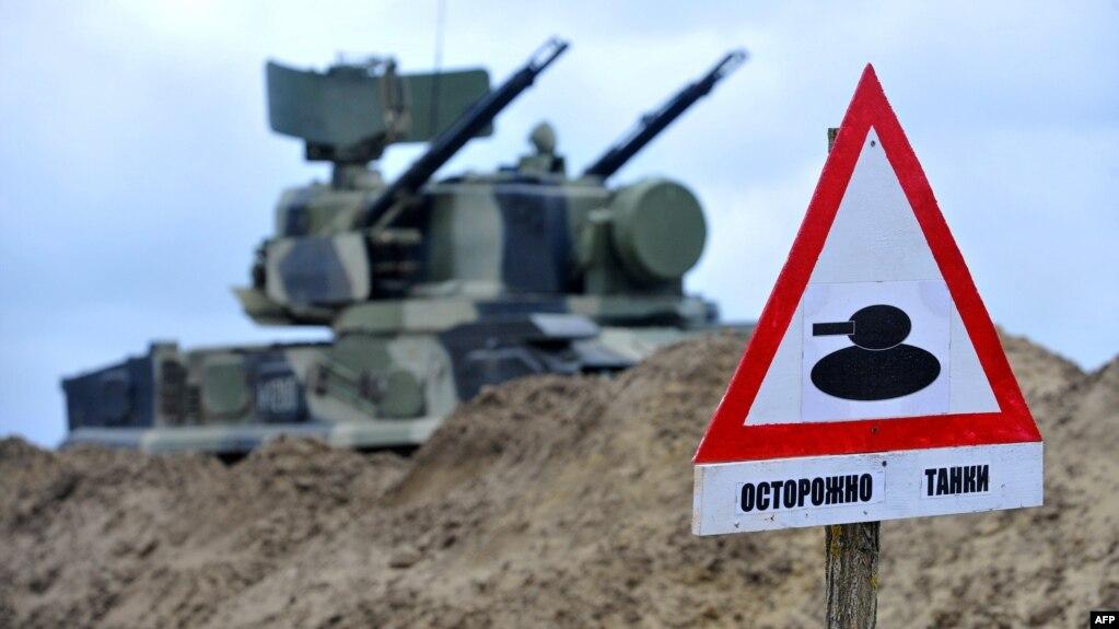 Учения российских военнослужащих. Иллюстративное фото.