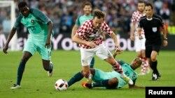 Хорватия - Португалия матчы. Ленс, Франция, 25 маусым 2016 жыл.