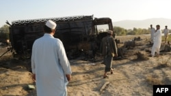 The attack by U.S. fighter jets on September 4, 2009, near the northern Afghan city of Konduz hit two fuel tankers stolen by insurgents.
