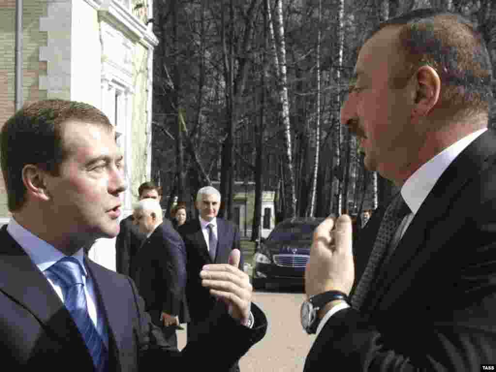 Президент России встретился президентом Азербайджана