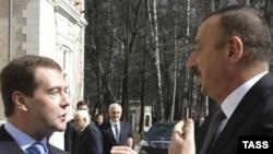 Prezidentlər Medvedev və Əliyevin görüşü. 17 aprel 2009