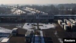 Пограничный переход Козловичи между Белоруссией и Польшей
