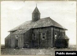 Мячэт у Асмолаве ў 1917 годзе