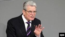 Presidenti i Gjermanisë, Joachim Gauck.