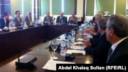 إجتماع مشترك لنقابتي المهندسين في إقليم كردستان