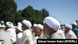 """Участники международной конференции """"Сообщество ислама"""", Бишкек, 9 сентября 2012 года."""