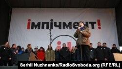 Mihail Saakașvili la demosntrația de astăzi de la Kiev