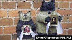 Ватные медведи художника Василия Слонова
