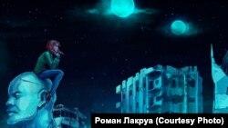 Кадр из игры о катастрофе в Чернобыле