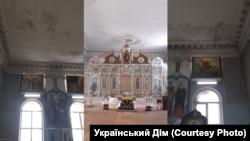 Собор Православной церкви Украины в Симферополе после разграбления имущества, 24 июля 2019 года
