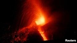Vulkan Etna je ponovo proradio pre tri dana