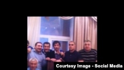 Бахти Ташкентский в кругу Деда Хасана (Аслана Усояна)