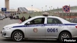 Армения. Полицейский автомобиль.