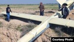Iranian Shahed drone seen near Mollasari in Khuzestan, January 28, 2020