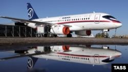 A Sukhoi Superjet 100 has suffered a string of setbacks since its maiden commercial flight in 2011.