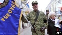 Obilježvanje 20. obljetnice pada Vukovara, studeni 2011.