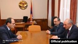 Լուսանկարը՝ Լեռնային Ղարաբաղի նախագահի պաշտոնական կայքի
