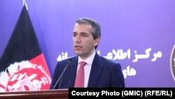 صدیق صدیقی، سخنگوی محمد اشرف غنی، رئیس جمهوری افغانستان