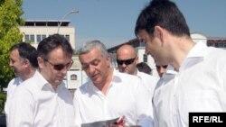 Opozicioni lideri u kampanji, Fotografije uz tekst Savo Prelević