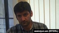 Armenia -- Lawyer Vahe Grigorian is interviewed by RFE/RL's Armenian Service, Yerevan, 17July,2012.