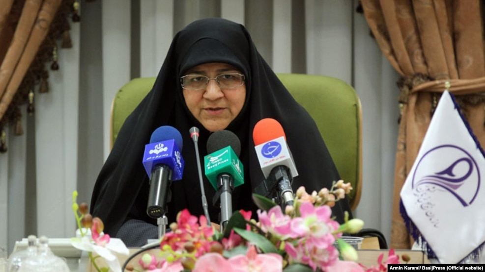 Minou Aslani, head of the Women's Basij organization in Iran, has condemned efforts to increase the number of women in parliament and opposed campaigns to curb domestic violence as perceived assaults on Iranian society and traditional family values.